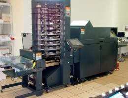 C.P. Bourg BST 10d+ , BDF Collator and Booklet Maker (2005)