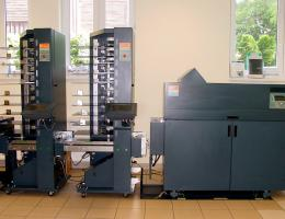 C.P. Bourg BST 20d+(right,left) BDF Collator and Booklet Maker (2005)