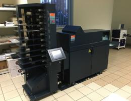 C.P. Bourg BST 10d+ , BDF Collator and Booklet Maker (2007)