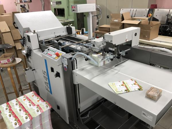 Avargraf - Używana Falcerka GUK FA 45/8 FL2-45 Used Folding Machine (2019)