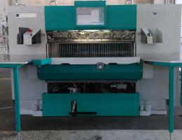 Perfecta 132 TS-AWR Cutting Machine (2011) with Automatic Waste Removal System